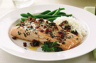 Barbecued Pacific Salmon Image 1
