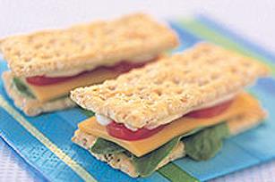 Mini-sandwichs de craquelins Image 1