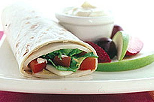 Turkey and Swiss Dijon Wrap