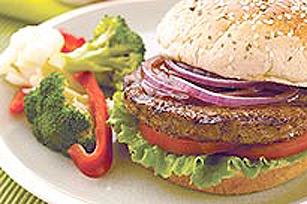 Burgers végétariens au barbecue