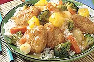 Croquettes de simili-poulet avec sauce aigre-douce Image 1