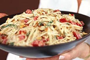 Pâtes fraîches au fromage à la crème Image 1