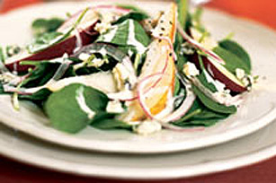 Salade d'épinards à l'érable