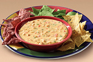 Cheesy Southwestern Chicken Dip