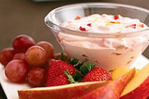 Trempette aux fraises