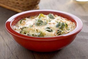Trempette chaude au brocoli et au fromage