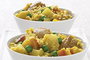 Slow Cooker Curried Chicken and Rice Image 1