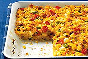Mix-in-the-Pan Dinner Strata