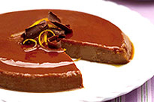 Chocolate Orange Flan