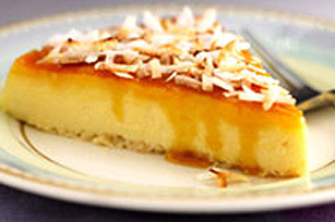 Coconut Cream Flan Image 1