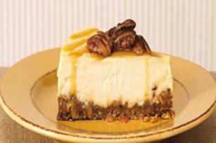 Gâteau au fromage praliné au caramel Image 1
