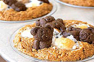 Muffins aux oursons et aux guimauves
