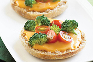 Cheesy Open-Face Sandwich