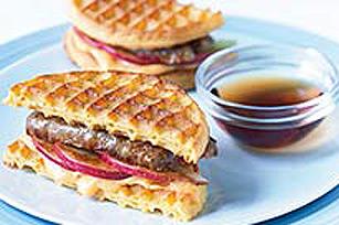 Sandwich de gaufres au grille-pain Image 1