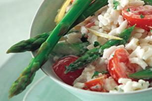 Salade de riz aux légumes printaniers Image 1