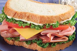 Ham'N Cheese Sandwich