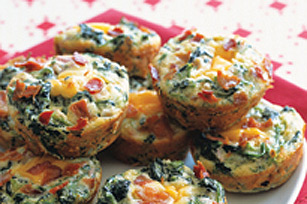 Mini Bacon Spinach Bites Image 1