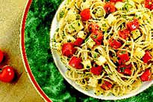 Spaghetti au mozzarella Image 1