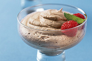 Easy Swiss Chocolate Nougat Mousse
