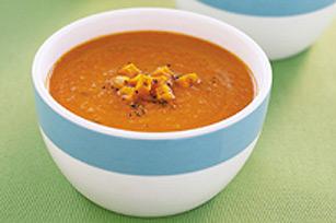Soupe aux tomates genre chili