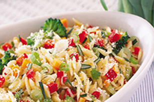 Orzo and Broccoli Salad - Kraft Recipes