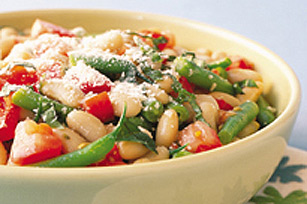 Italian Bean and Tomato Salad