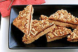 Chocolate Caramel Nut Bars Image 1