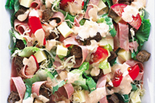 Salade au bœuf salé de campagne