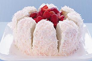 Gâteau fleur printanière