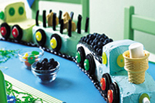 Birthday Train Cake