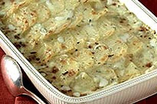 Gratin de pommes de terre au fromage bleu Image 1