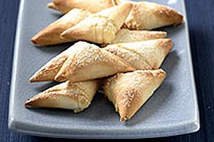 Triangles sucrés au fromage à la crème Image 1
