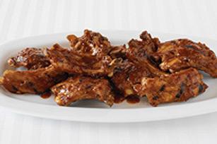 Côtes levées barbecue simples aux piments chipotle