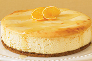 Gâteau au fromage au miel et à l'orange