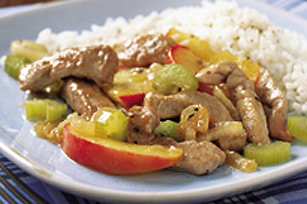 Maple-Pork Stir-Fry Image 1