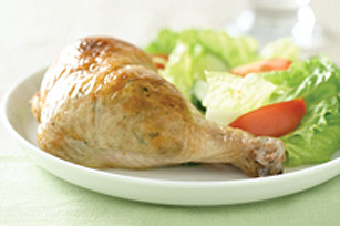 Poulet farci au fromage simple