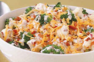 Broccoli and Cauliflower Salad Image 1