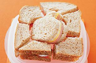 Sandwich casse-tête au saucisson de Bologne Image 1