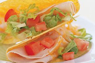 Taco à la dinde et au fromage fondu Image 1