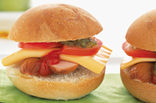 "Mini Hot Dog ""Burgers"" Image 1"