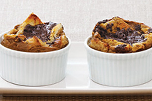 Individual Mocha Bread Puddings