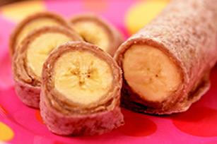 Pièces de monnaie au beurre d'arachide et aux bananes Image 1