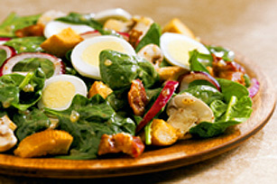 Sweet Spinach Salad with Kraft Signature Sweet Onion Vinaigrette Image 1