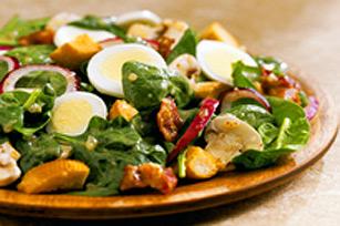 Salade douceur d'épinards avec vinaigrette à l'oignon doux Signature Kraft Image 1