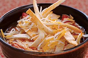 Soupe tortilla au poulet