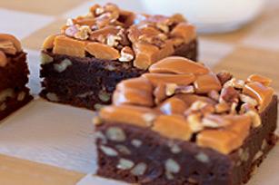 Brownies au caramel et aux pacanes dans un seul bol Image 1
