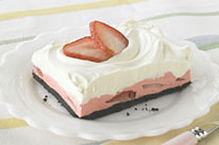 Strawberry Mousse Squares Image 1