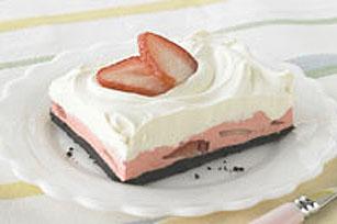 Carrés mousse aux fraises Image 1