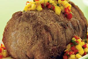 Longe de porc grillée avec salsa aux ananas
