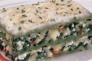 Lasagne aux épinards